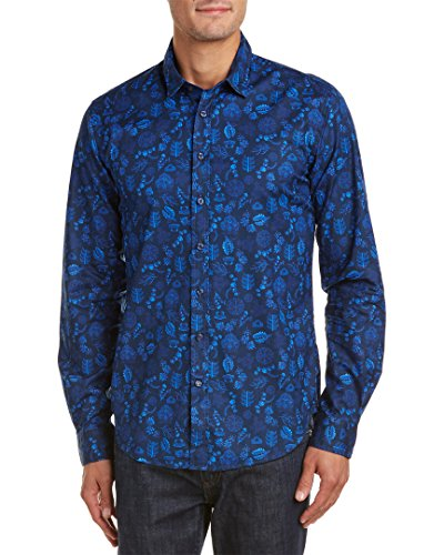 thomas-pink-mens-casual-slim-fit-woven-shirt-m-blue