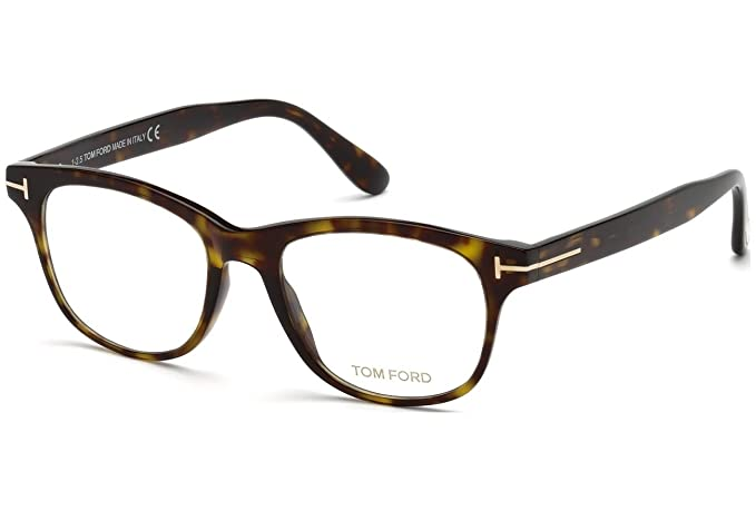 defb84809c03 Image Unavailable. Image not available for. Colour  Tom Ford Round Eyeglasses  TF5399 052 Havana Gold 54mm FT5399