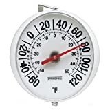 Taylor Precision Springfield Big and Bold Thermometer with Mounting Bracket, 5.25 Inch