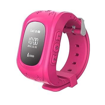 Zeerkeer Rastreador GPS Reloj Inteligente para Niños,GPS/LBS ...