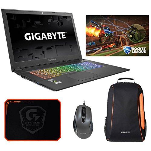 Gigabyte Sabre 17K-KB3 (i7-7700HQ, 16GB RAM, 256GB SATA SSD + 1TB HDD, NVIDIA GTX 1050Ti 4GB, 17.3