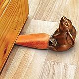 Rabbit and Carrot Doorstop