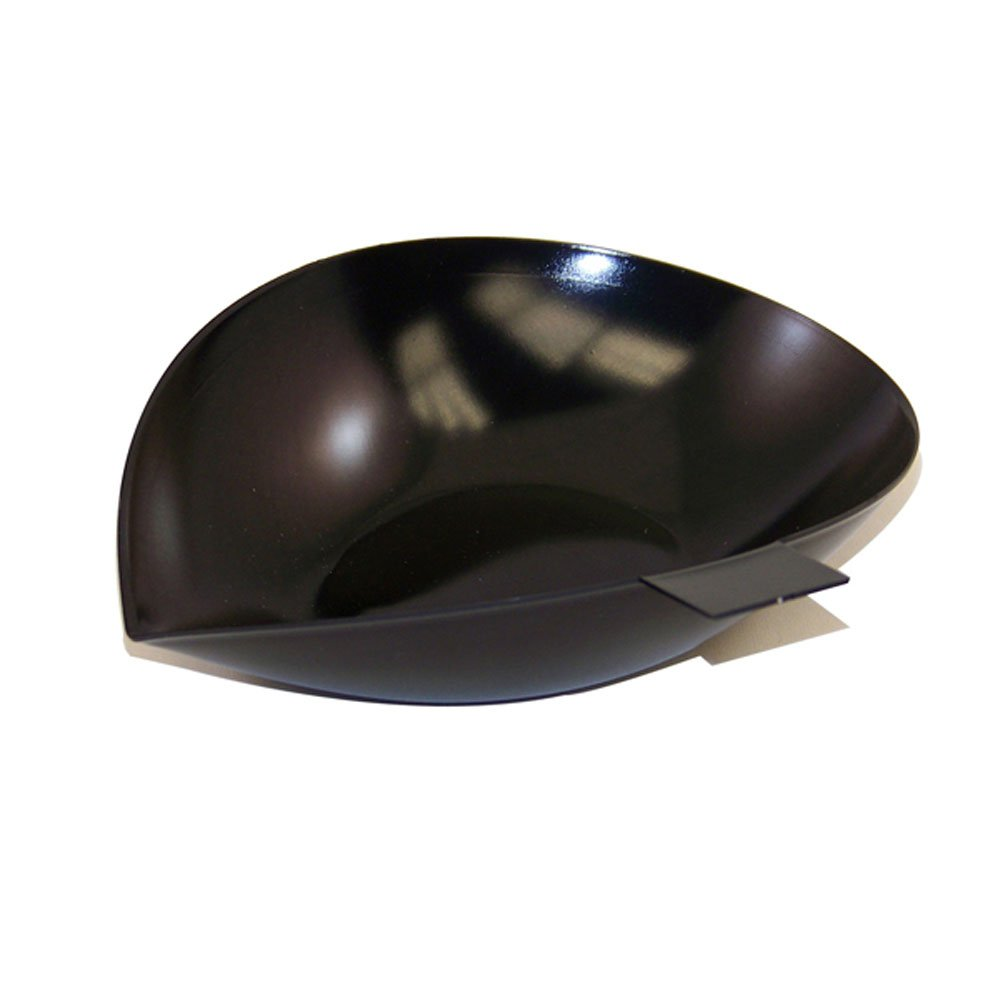 Ohaus 4590-30 Black Aluminum Scoop 4'' x 3.5'' by Ohaus (Image #1)