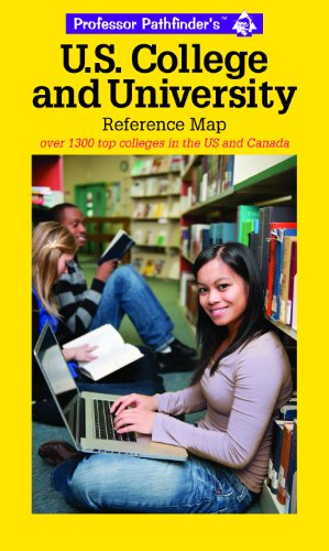 US College & University Reference Map: Over 1400 top colleges in the US and Canada 5th edition