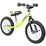Tauki Kid Balance Bike No Pedal Push Bicycle, 12 Inch, Red, 95% assembled