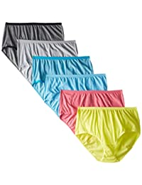 Fruit of the Loom Women's 6 Pack Brief Panties