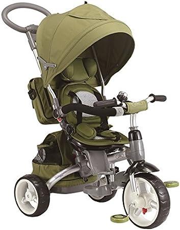 Baby 's Clan triciclo/cochecito evolutif 6en 1Verde Oliva