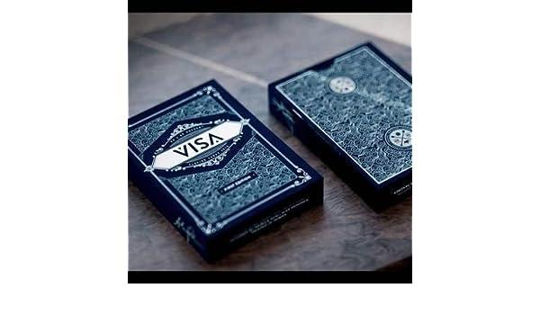 SOLOMAGIA Visa Playing Cards - Blue - Tarjeta Juegos ...