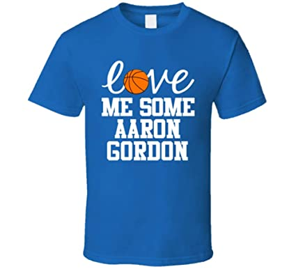buy online 531c3 109b5 Aaron Gordon Love Me Some Orlando Basketball Fan T Shirt ...