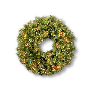 Norwood Fir Pre-lit Wreath 83