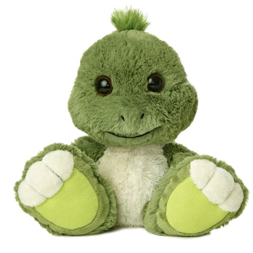 Aurora World Taddle Toes Snorkel Turtle Plush, 10
