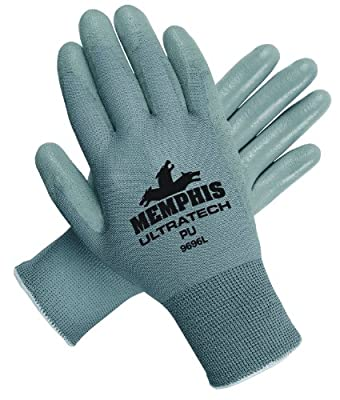 Memphis Glove UltraTech Nylon Shell Gloves with Straight Thumb