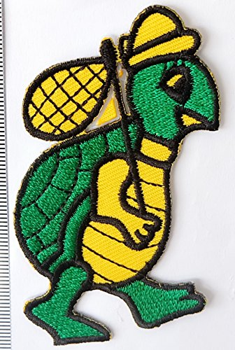 turtle Iron on Patch Embroidered Sewing for T-shirt, Hat, Jean ,Jacket, Backpacks, - Store George Running St
