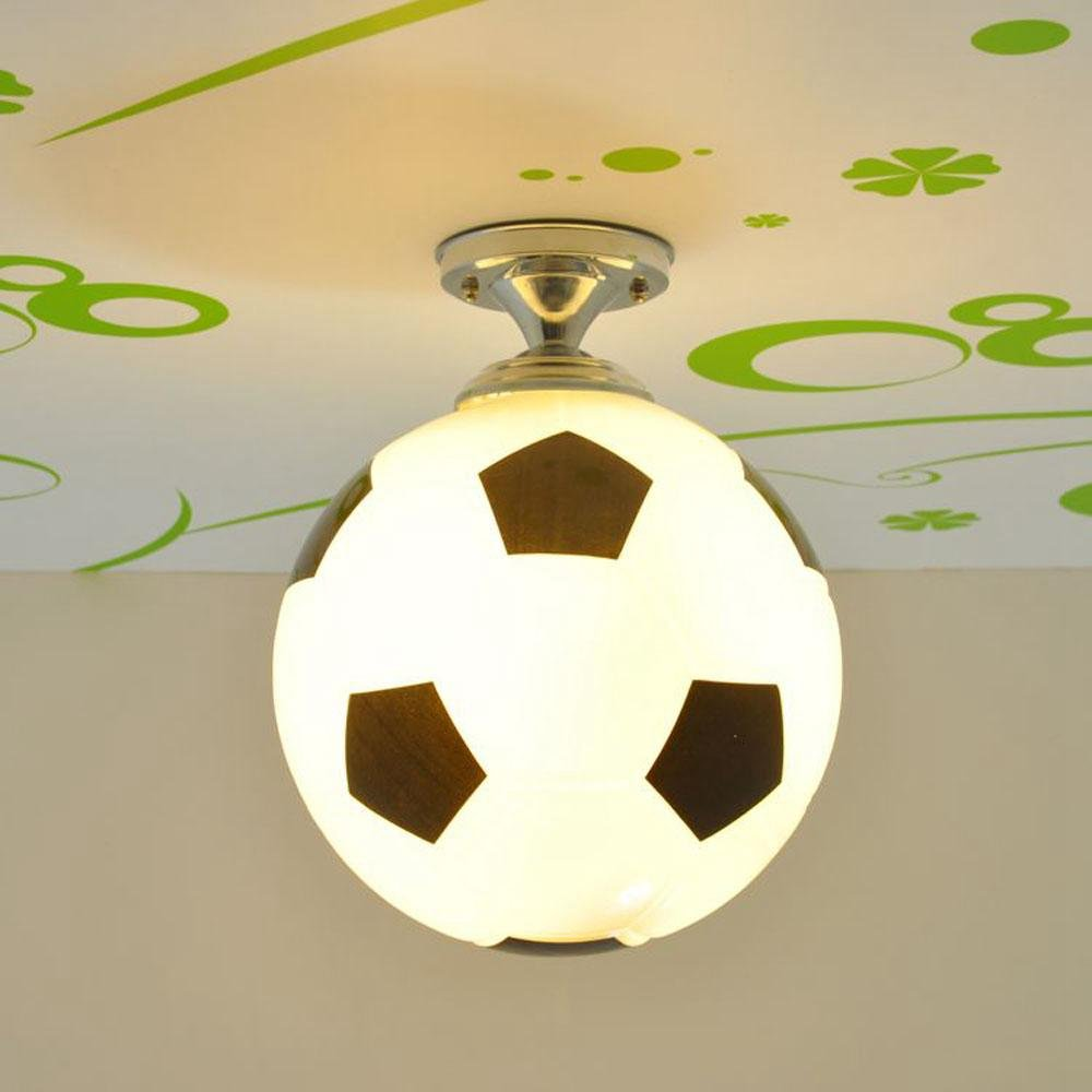 Kid bedroom glass football ceiling light creative soccer childrens kid bedroom glass football ceiling light creative soccer childrens room ceiling lighting fixtures playroom balcony corridor dining room glass ceiling lamp mozeypictures Choice Image