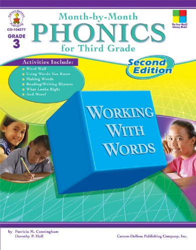 Month-by-Month Phonics for Third Grade: Second Edition