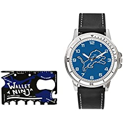 Rico NFL Detroit Lions Watch and Wallet Ninja