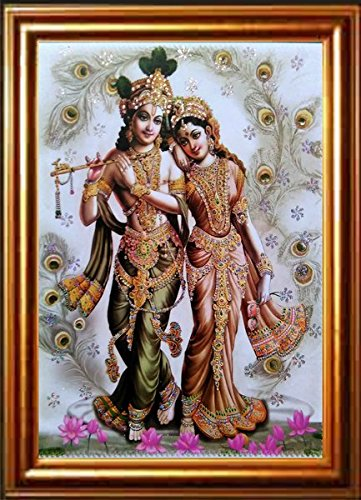 Buy nandinistores Lord Radha Krishna Beautiful Decorative