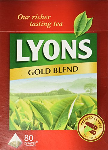 Lyons Gold Blend Tea. 3 Pack X 80 Bags