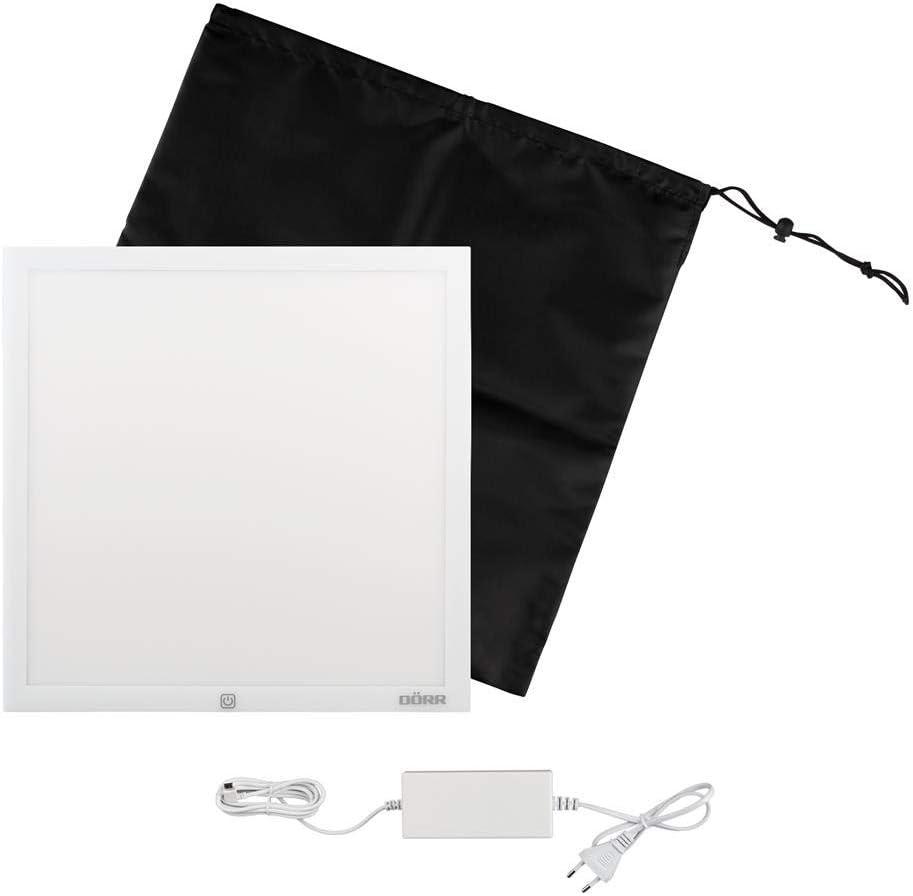 Visionneuses de Photos Secteur, 200 mm, 8 mm, 200 mm, 315 g D/örr LT-2020 165 x 165 mm