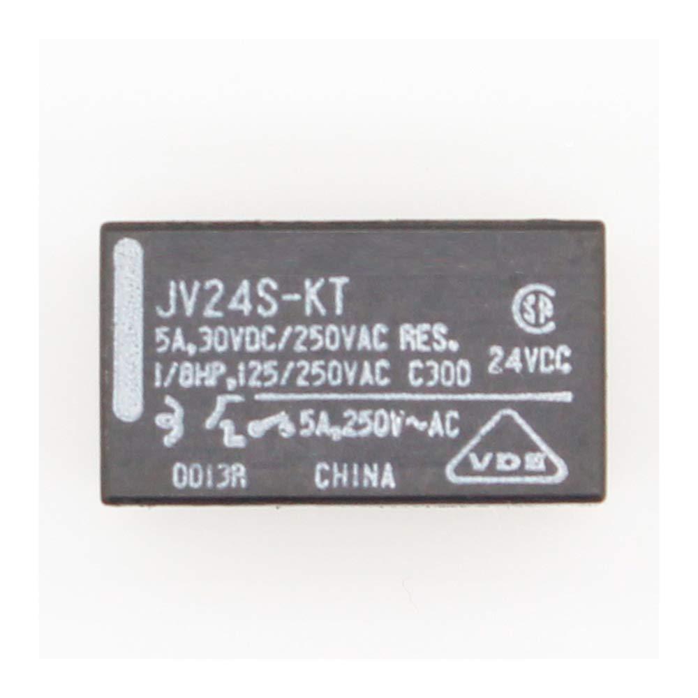 10 Unids JV24S一KT JV一24S一KT 24V 24VDC DIP一4 5A 30VDC 250VAC rel/é de potencia original
