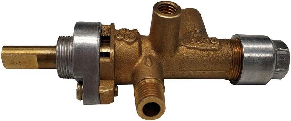 LZL 화재 구덩이 프로판 가스실 공간 히터 및 야외 안뜰 히터 교체 부품 가스 제어 안전 밸브 메인 밸브 2PCS   로트 화재 구덩이