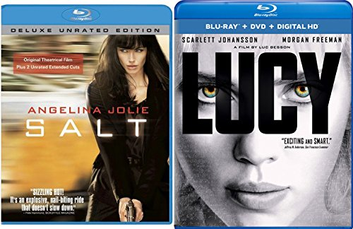 (Salt & Lucy [Blu-ray] 2 Pack Leading Ladies Action Movie Thriller Set)