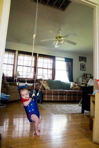 2af230941d7b Amazon.com   Merry Muscles Ergonomic Jumper Exerciser Baby Bouncer ...
