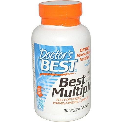 Doctor's Best, Best Multiple, Fully Optimized Vitamin-Mineral Complex, 90 Veggie Caps - 2pc