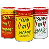 Walker & Sons Slap Ya Mama Cajun Seasoning, Pack of 3, 8oz