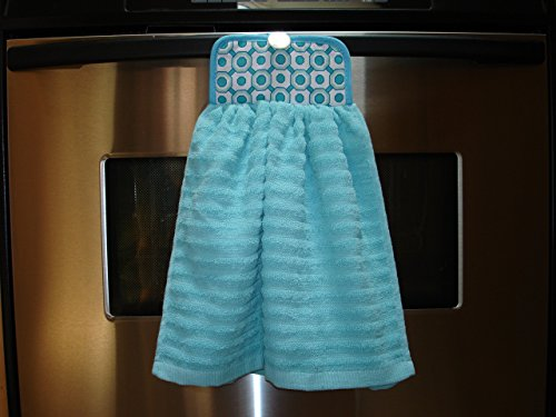 Multipurpose Kitchen Towel with attached Potholder