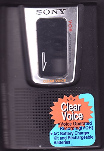 Sony TCM-454VK - Cassette recorder - black by Sony