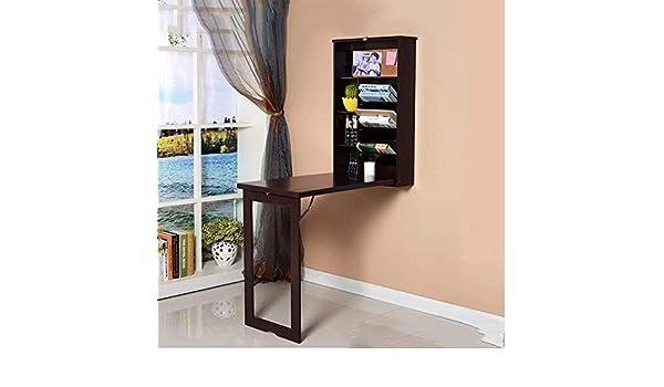 CWJ Mesa pequeña para el hogar Despliegue Convertible Montaje en ...