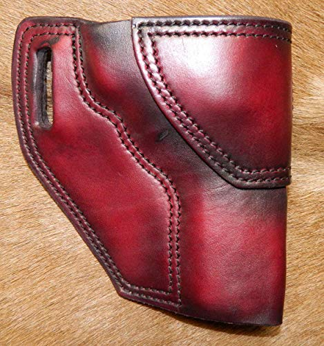 Gary C's Leather OWB Avenger RH Leather Holster for the S&W L Frame 4