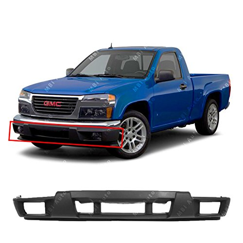 (MBI AUTO - Textured, Lower Front Bumper Cover Valance for 2004-2012 GMC Canyon & Chevy Colorado w/Fog 04-12, GM1000722)