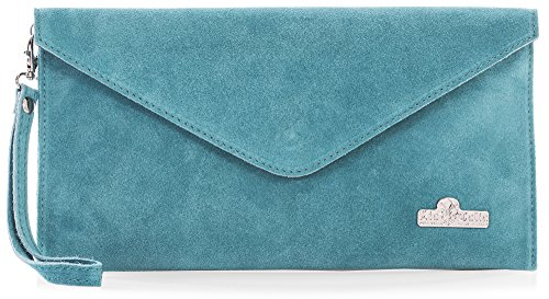 Turquoise Bag Clutch - 7