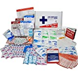 OSHA & ANSI First Aid Kit Refill/Upgrade, 50 Person, 196 Pieces, ANSI 2015
