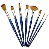 Winsor & Newton Cotman Water Colour Series 111 Short Handle Synthetic Brush - Round #2