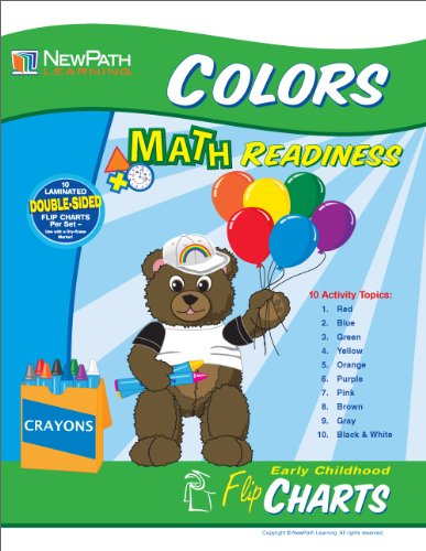 NewPath Learning All About Colors Curriculum Mastery Flip Chart Set, Early Childhood by New Path Learning (Image #2)