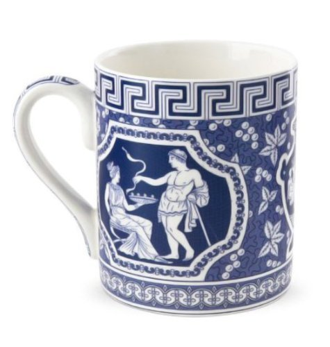 Blue Room 16 oz. Greek Mug