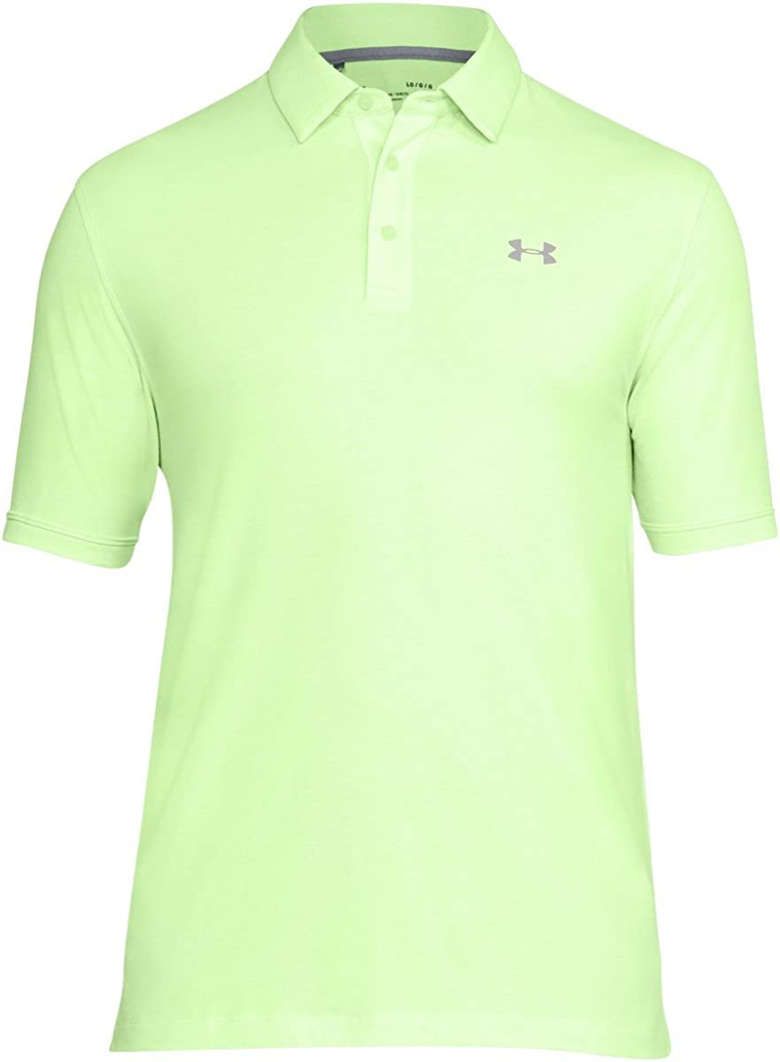 Under Armour Mens Charged Cotton Scramble Polo