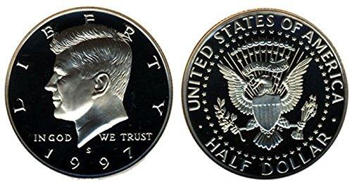 1997 Kennedy Silver Proof Half Dollar (Dollar Kennedy Proof Half)