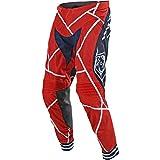 Troy Lee Designs SE Air Metric Men's Off-Road Motorcycle Pants - Red/Navy / Size 38