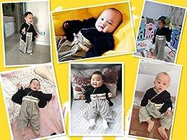 Baby Kids boy Japanese Hakama Style Coverall Kimono Robe Rompers bib Geta Style Socks Set