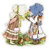 Walls 360 Peel & Stick Fabric Wall Decals: Holly Hobbie Classic Flowers (23.75 in x 24 in)