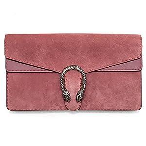 e5e81c0a5a0f68 Gucci Dionysus Winter 2016 Red Orange Suede Shoulder Bag New