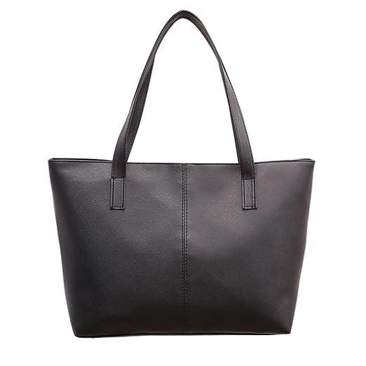 b49c751104dc9 Amazon.com  Sunyastor Fashion Women Vintage PU Leather Large Tote Shopping  Bag Shoulder Bag Celebrity Tote Purse Satchel Messenger Purses Bags Large  ...