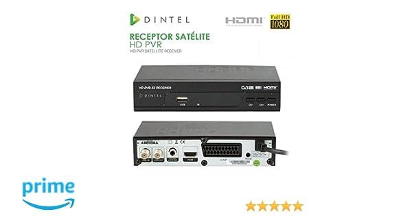 Diesl.com - Receptor Satélite HD PVR Dintel USB HDMI: Amazon.es: Electrónica