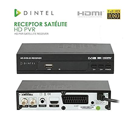 Diesl.com - Receptor Satélite HD PVR Dintel USB HDMI
