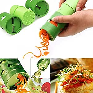 Angelwing Fruit Cucumber Carrot Turning Cutter Slicer Peeler Multifunction Veggie Vegetable Processing Device
