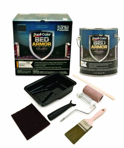 Dupli-Color BAK2010 Bed Armor DIY Truck Bed Liner with Kevlar Bed Armor Kit (Best Truck Bed Liner Kit)